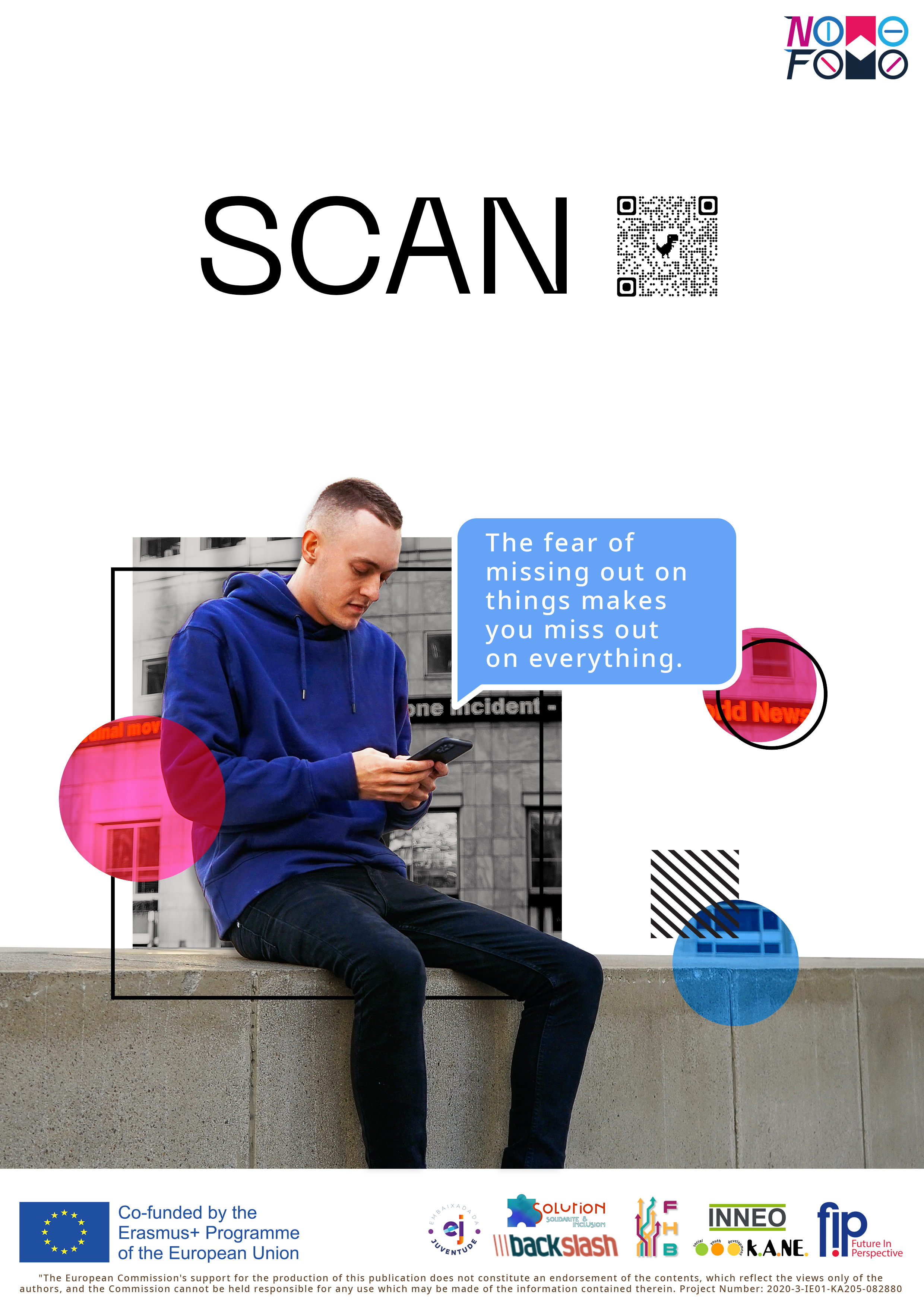 FOMO & The New Normal - Poster + QR Code (1)